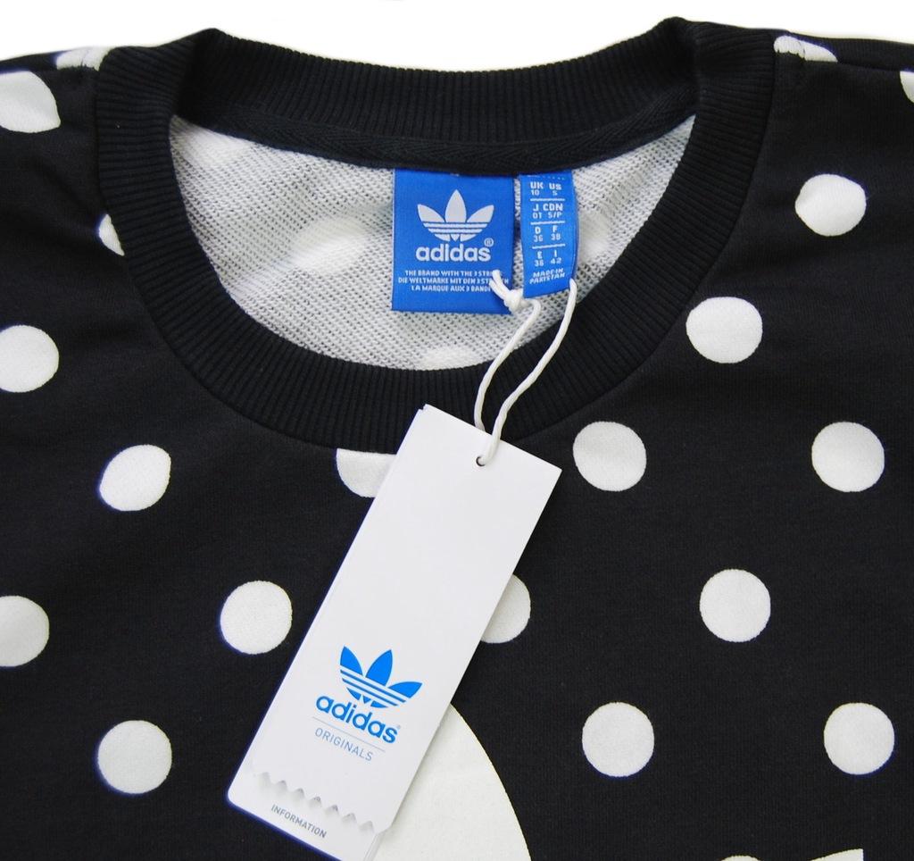 adidas bluza kropki