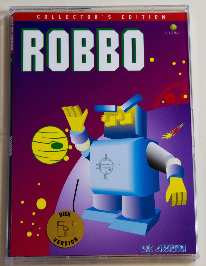 ROBBO - Atari XL/XE - Dyskietka - NOWA!