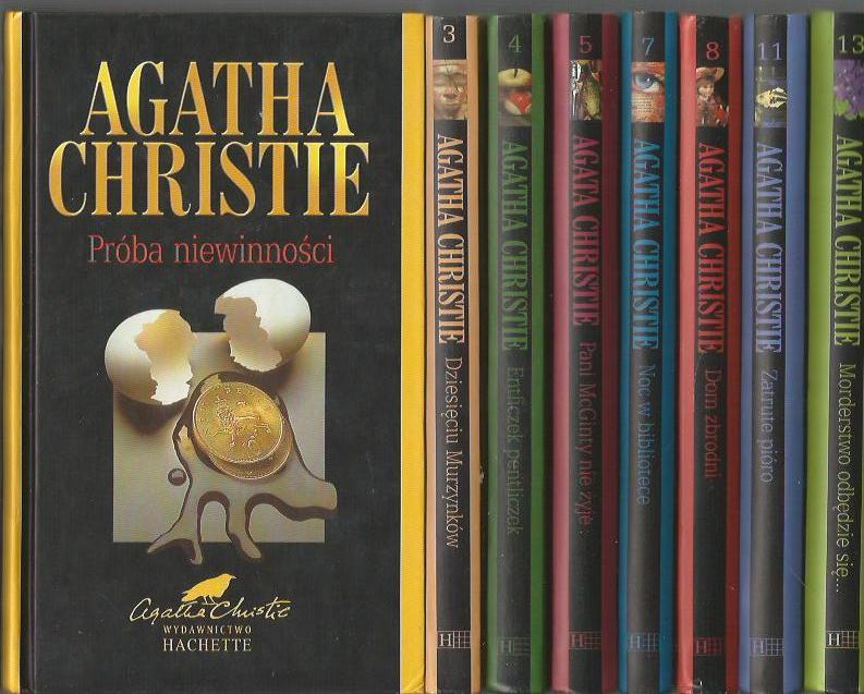 A Christie Zestaw 8 Ksiazek Entliczek Pentliczek 7013518007 Oficjalne Archiwum Allegro