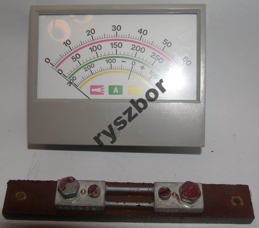 Amperomierz  ,(ZTR120,ZTR150) prąd DC -remont