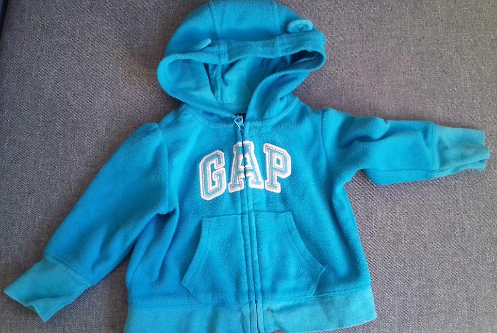 Bluza polarowa GAP roz.6-12 miesięcy