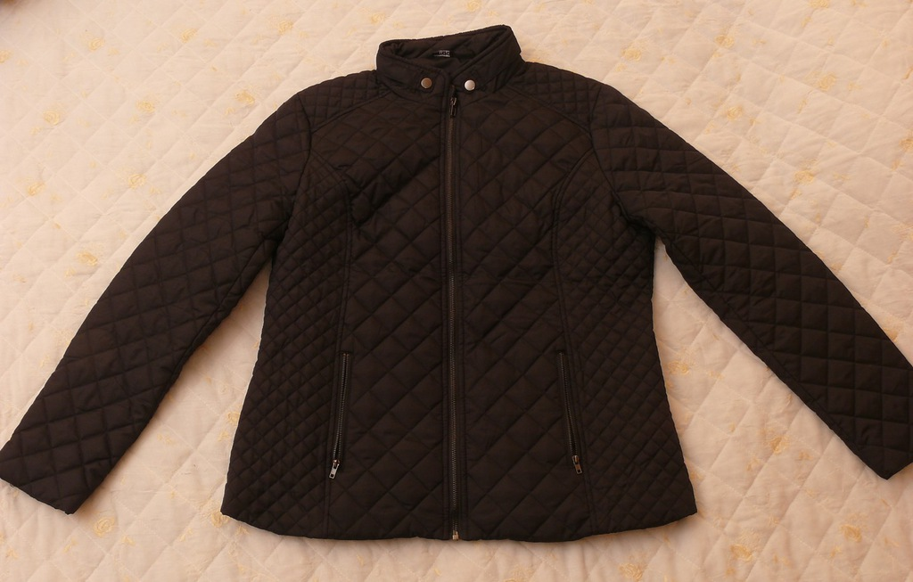 kurtka pikowana esmara granatowa