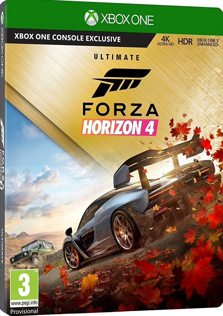 Forza Horizon 4 Ultimate Edition PL PS4 M-G Łódź