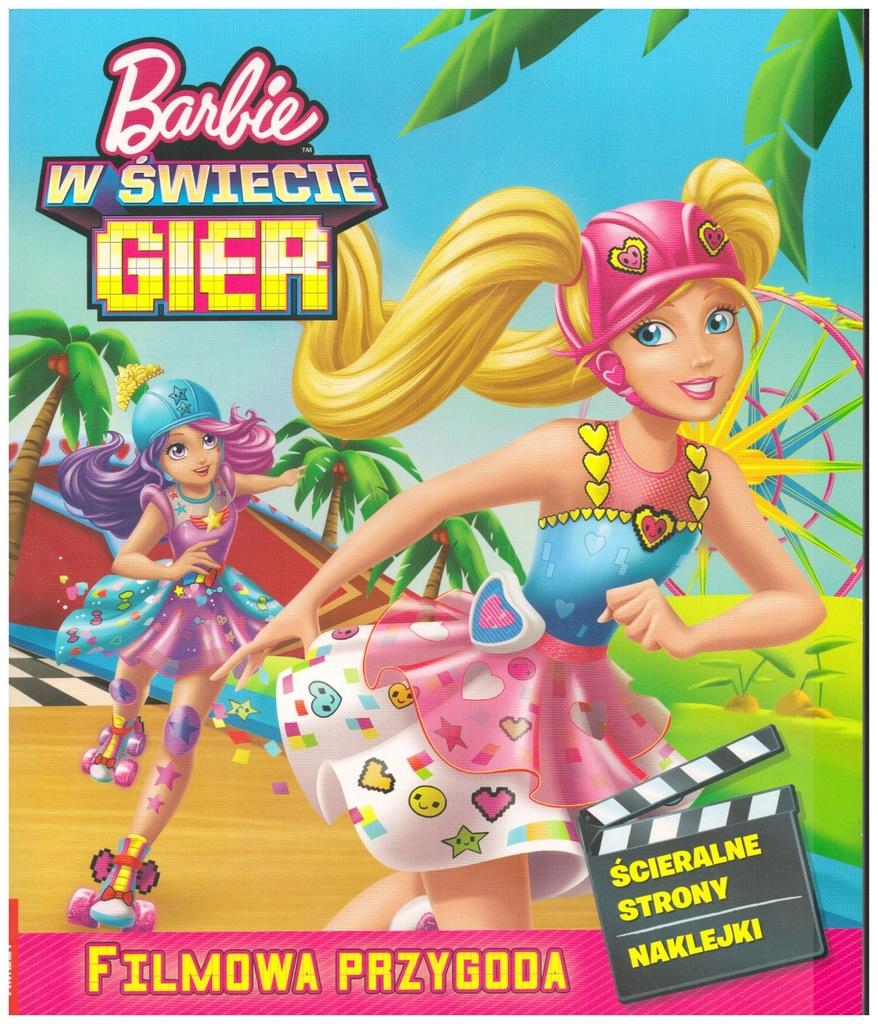 Kolorowanka Barbie W Swiecie Gier Filmowa Przygo 7124768084 Oficjalne Archiwum Allegro