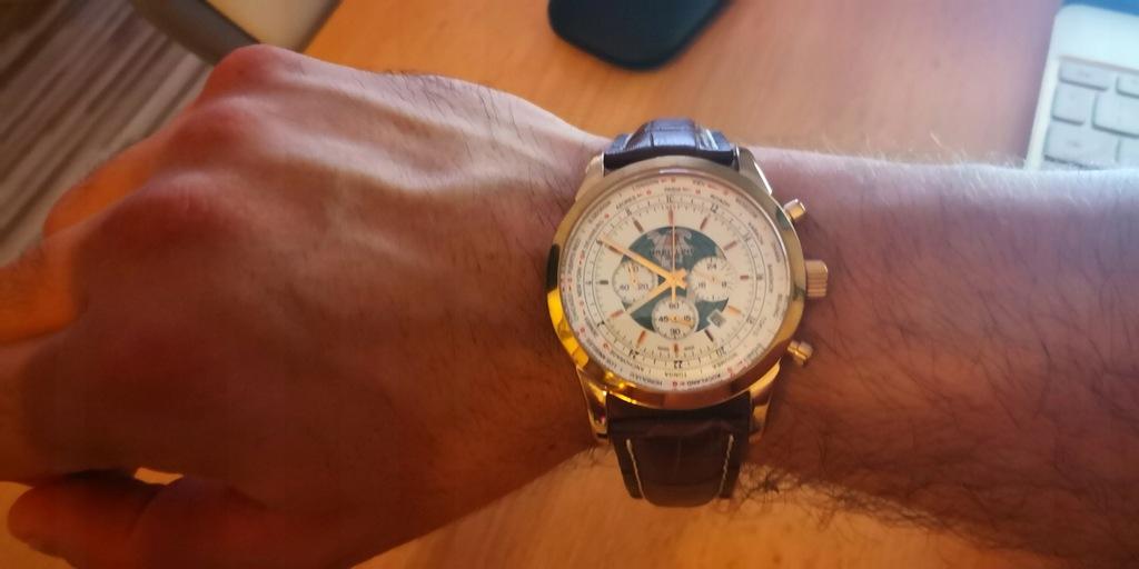 Zegarek Breitling używany prezent z wakacji