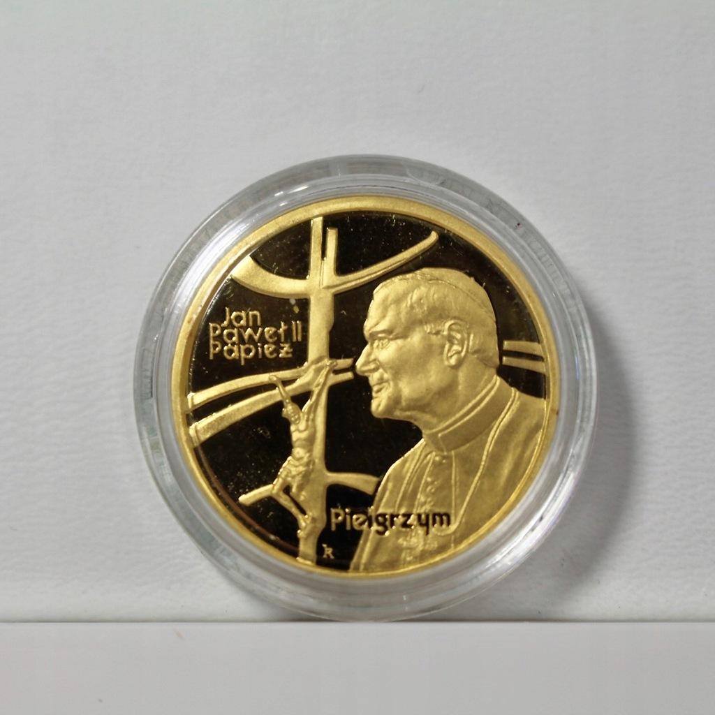 Monety Zlote Z Papiezem Janem Pawlem 100 I 200 Zl 7677594400 Oficjalne Archiwum Allegro