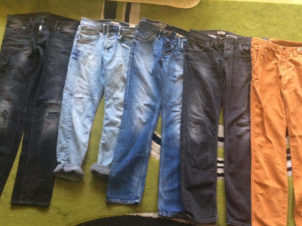 Paka ciuchów męskich pepe jeans
