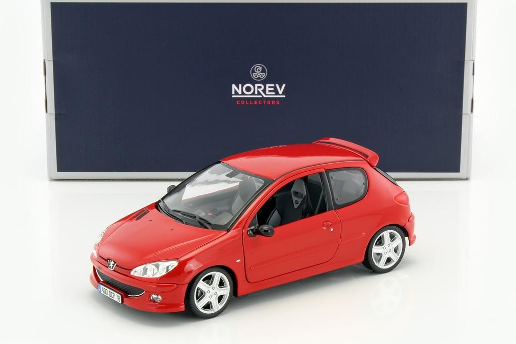 Norev Peugeot 206 Rc 2003 Aden Red 1 18 7129224100 Oficjalne Archiwum Allegro