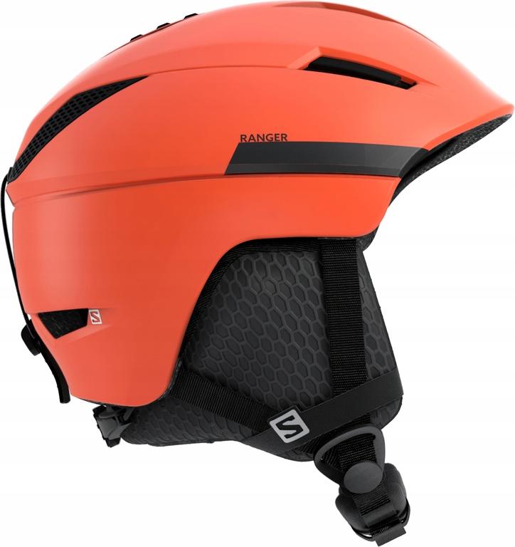 Kaski narciarskie Salomon Ranger2 Pomarańczowa XL
