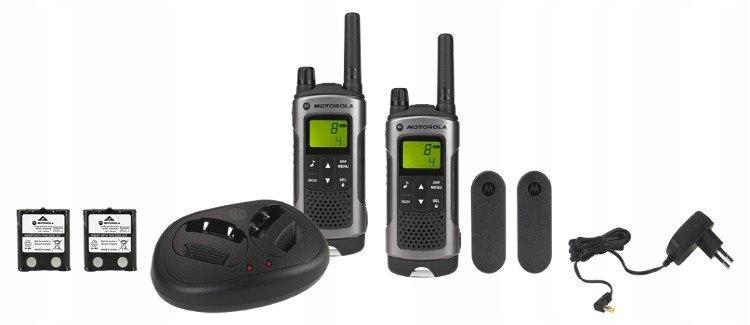 Motorola TLKR T80 KRÓTKOFALÓWKI PMR