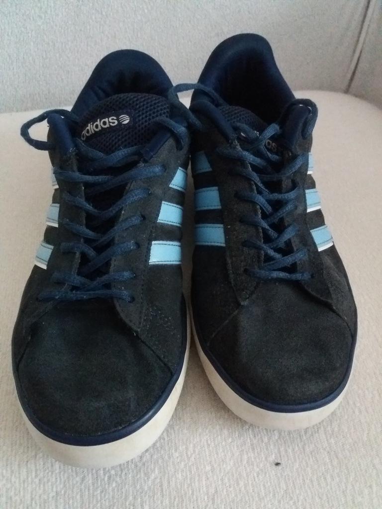 ADIDAS DERBY VULC r40 23 skórzane sneakersy NEO