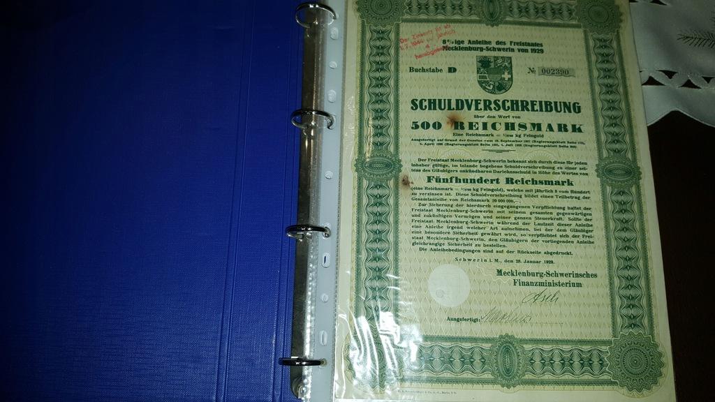 akcje, obligacje i gazety wojenne 50 sztuk