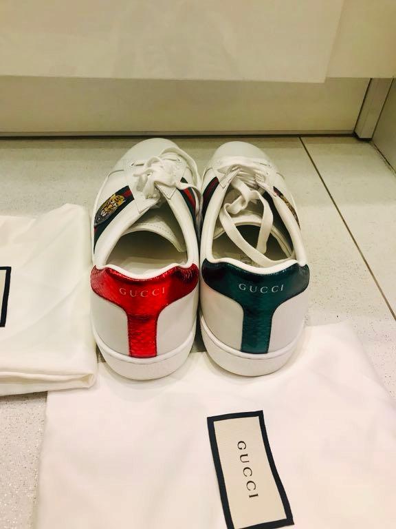 Nowe Oryginalne Buty Gucci Ace R 45 Cm 7676073460 Oficjalne Archiwum Allegro