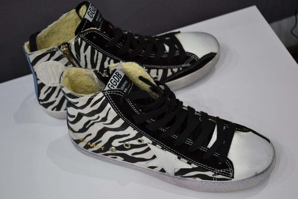 GOLDEN GOOSE GGDB Sneakers trampki r.42 dł.wkł.27