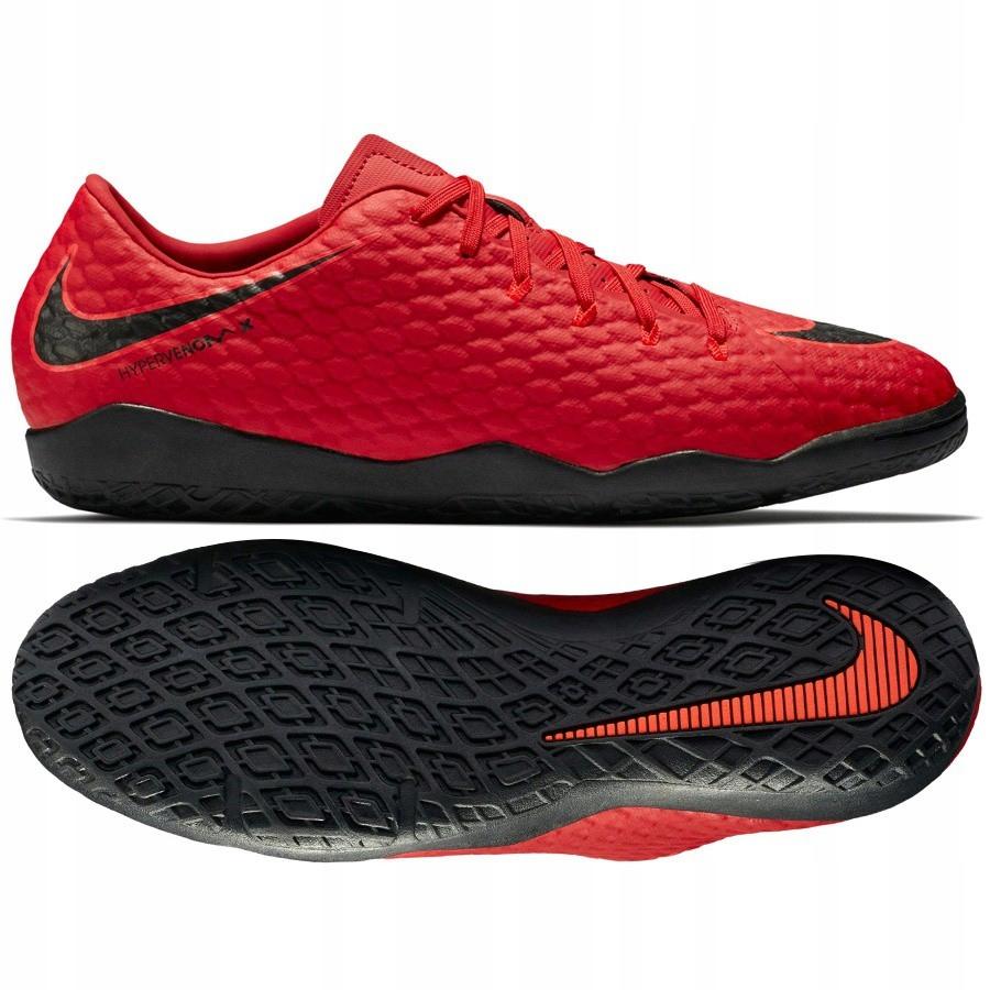 Buty Nike HYPERVENOMX PHELON III IC Czerwone