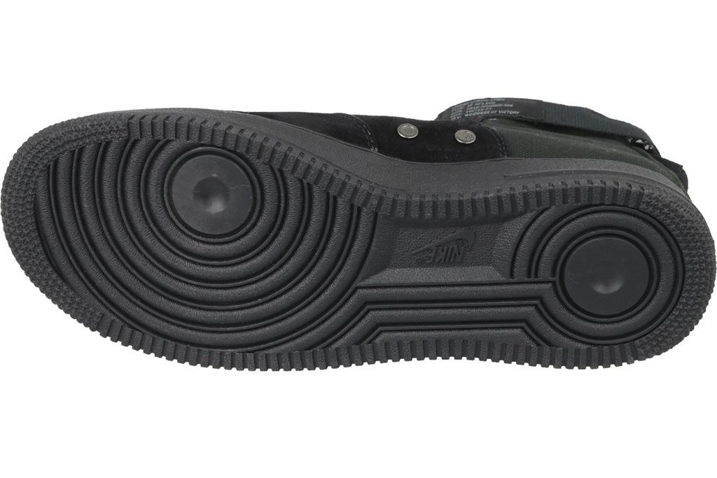 buty skate Nike SF Air Force 1 Mid 917753 008, męskie, Czarne