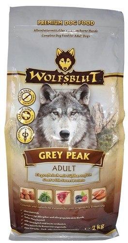 Wolfsblut Dog Grey Peak - koza i bataty 2kg