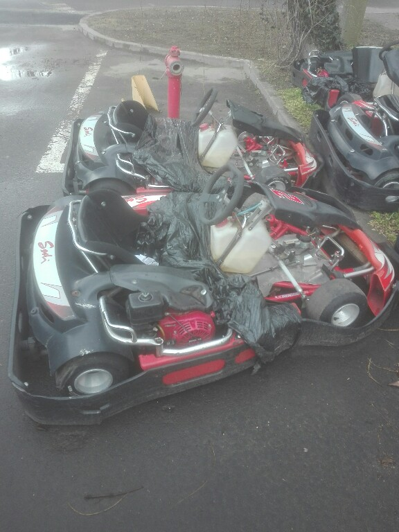 Gokart SODI GT2 200, Honda, ŁADNY