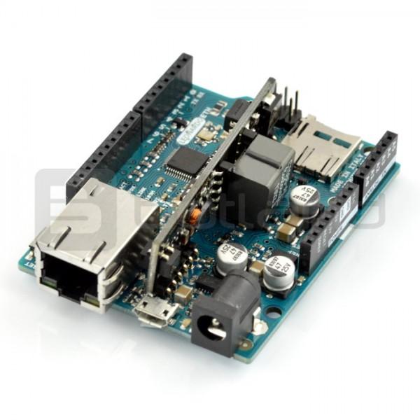 Arduino Leonardo Ethernet + PoE