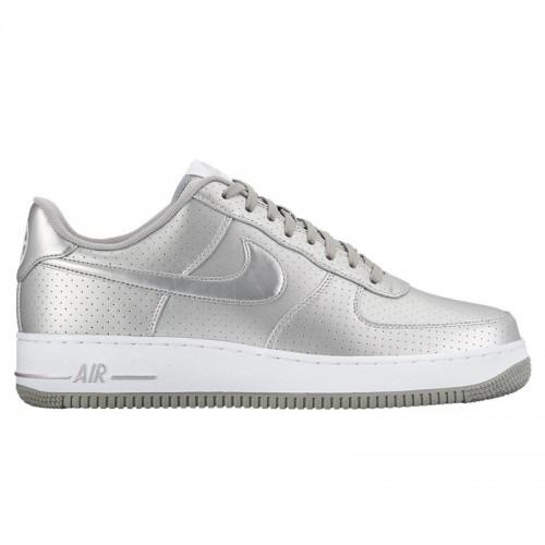 srebrne buty nike air force