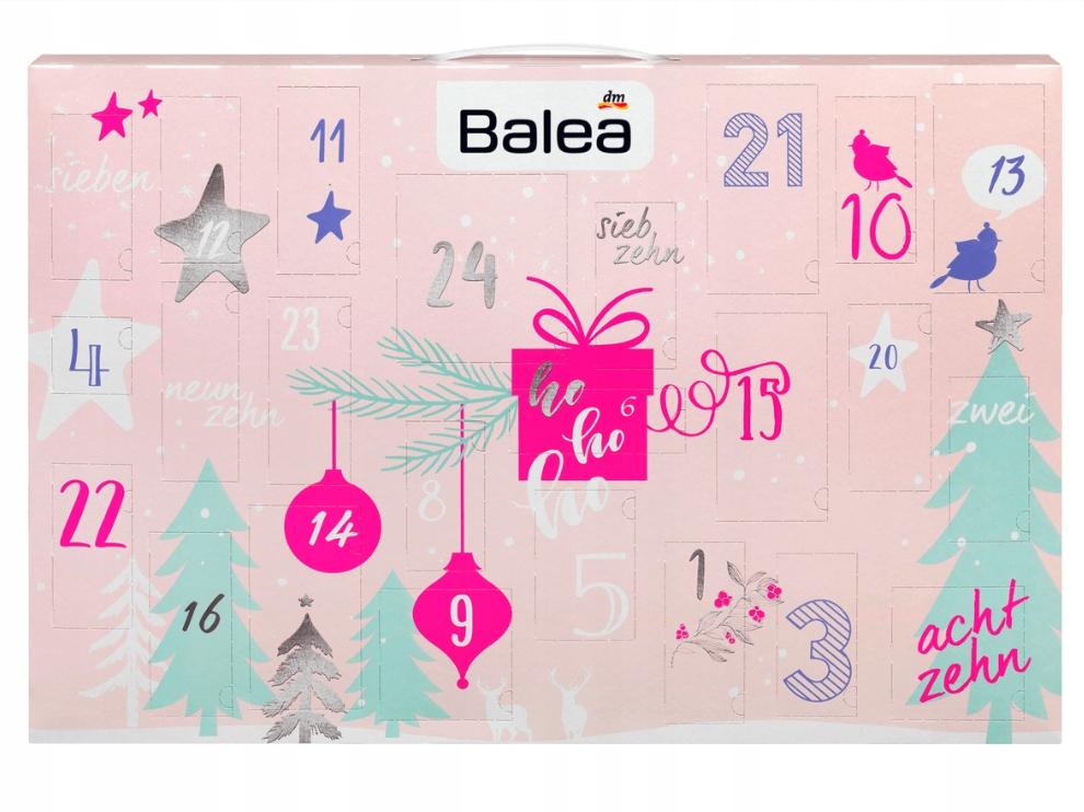 Kalendarz Adwentowy Z Kosmetykami Marki Balea 7636700418 Oficjalne Archiwum Allegro