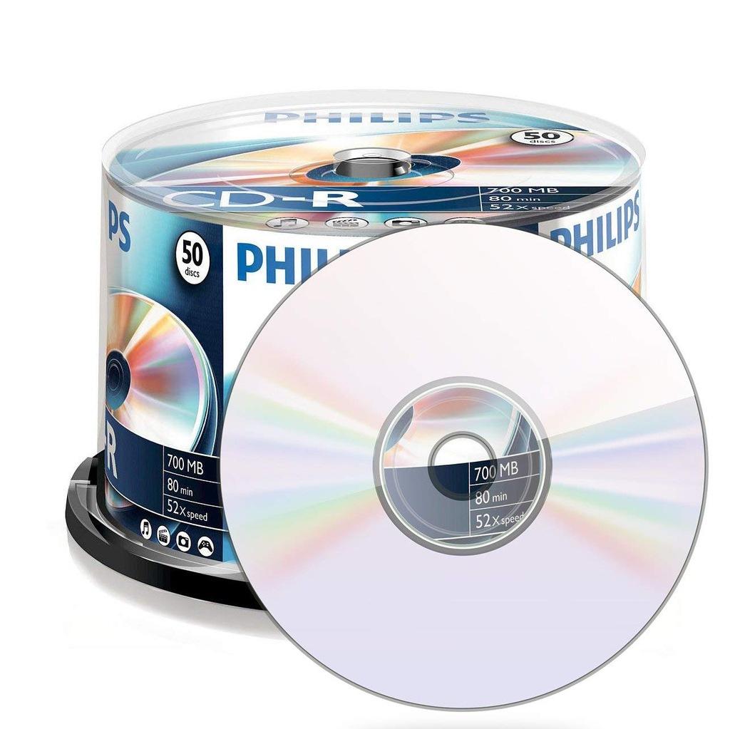 48 płyt CDR-80 Philips