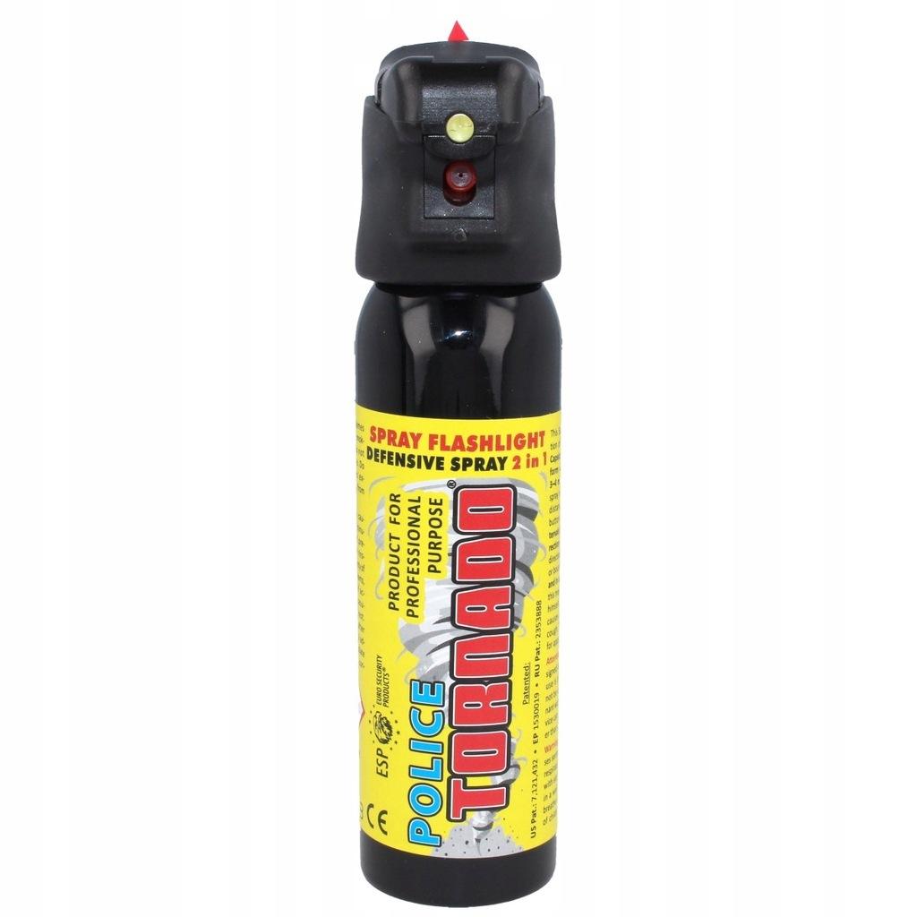Gaz pieprzowy ESP Tornado LED 100ml