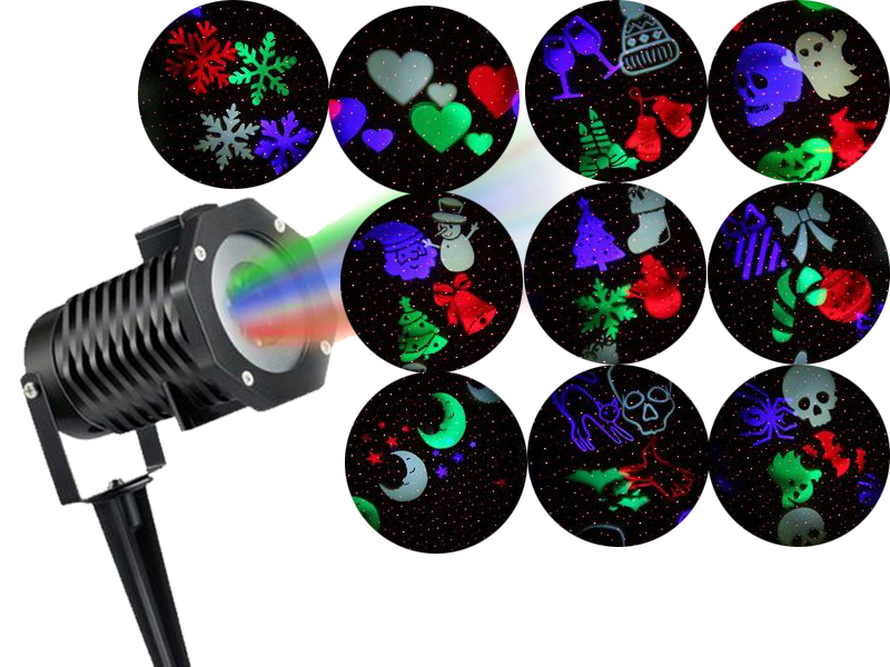Projektor Laserowy Rzutnik Led Lampa 48 Wzorow Tv 7036818393 Oficjalne Archiwum Allegro
