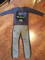 Komplet Koszulka + Spodnie Dresowe Cool Club 140cm