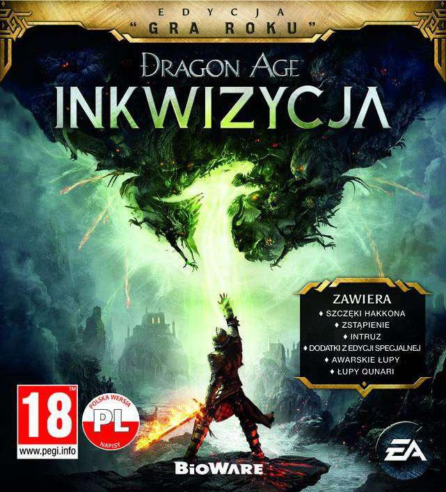 Dragon Age Inkwizycja Edycja Gra Roku 6695549366 Oficjalne Archiwum Allegro