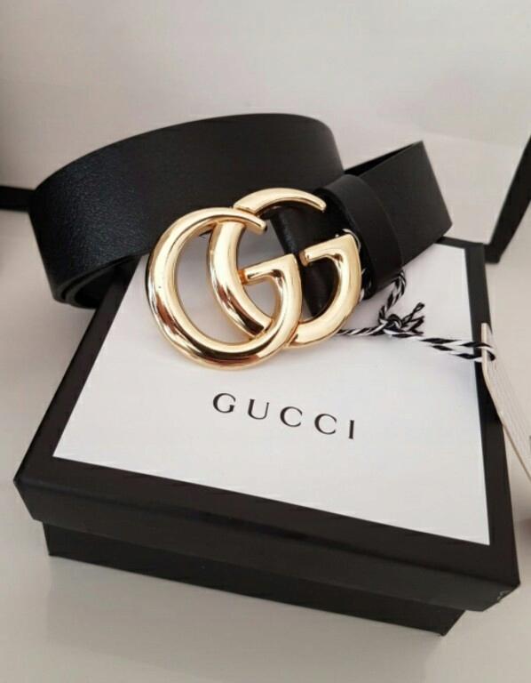 Pasek Gucci Gg Skora Naturalna Pudelko Gg Prezent 7714179023 Oficjalne Archiwum Allegro