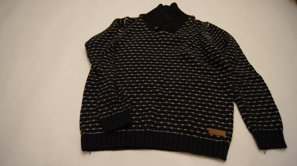Primark Rebel 12-13l 158cm swetr zapinany na bok