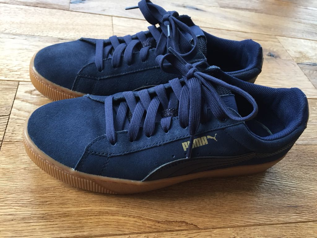 Puma soft foam 39 damskie granatowe buty