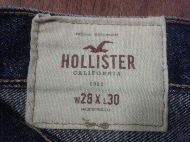 Oryginalne dżinsy Hollister 28x30 spodnie