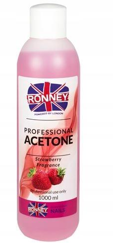 Aceton Remover Truskawka RONNEY 1000 ml