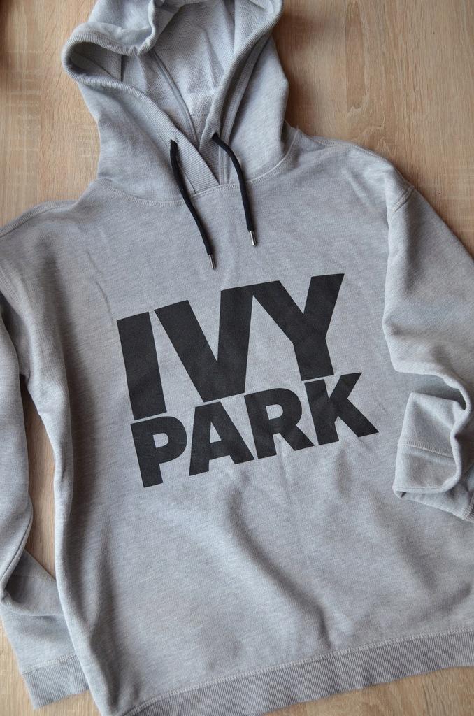 ivy park czarna bluza z kapturem xs allegro