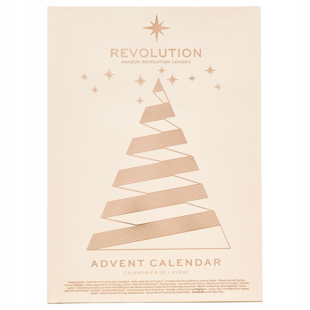 Makeup Revolution Kalendarz Adwentowy Kosmetykami 7718409051 Oficjalne Archiwum Allegro