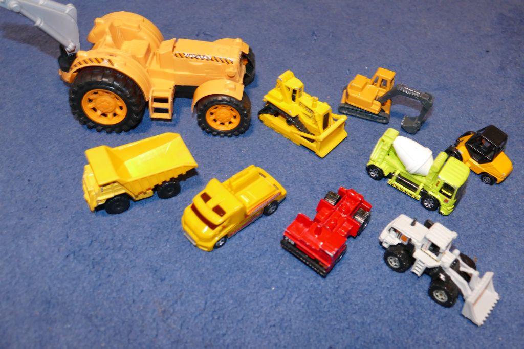Samochody budowlane - miniatury - okazja !!!