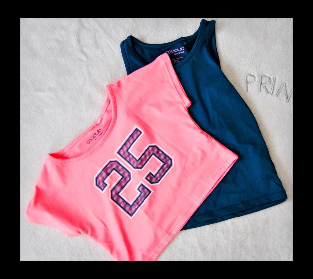 bluzeczka sportowa 2w1