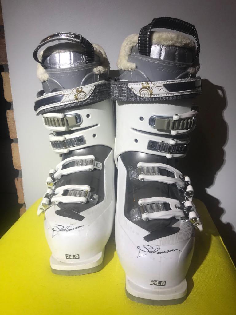 Narty buty narciarskie damskie salomon x4 divine 24