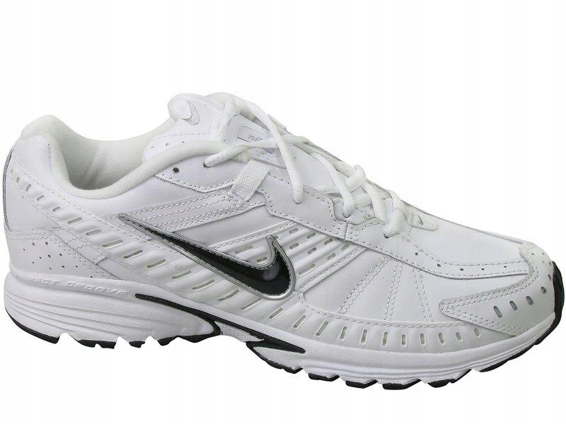 buty skórzane białe nike męskie