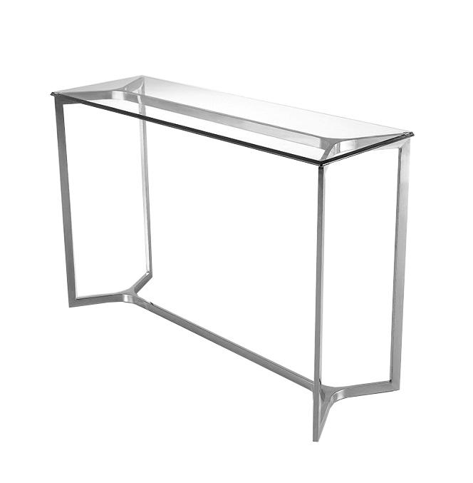 KONSOLA GG-1007 120x40x80cm szkło stal