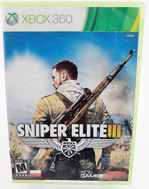 Gra Xbox 360 Sniper Elite Iii Ang 7276893527 Oficjalne Archiwum Allegro