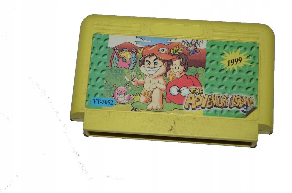 Cartridge Gra Pegazus The Adventure Island 3 S16 7650625607 Oficjalne Archiwum Allegro