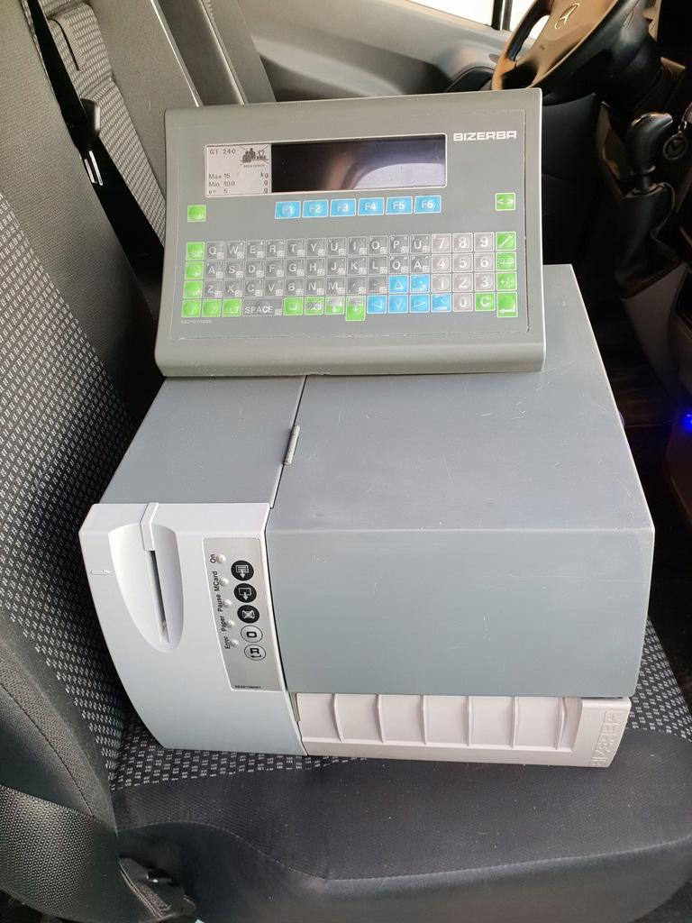 drukarka etykiet bizerba glp po gener remoncie