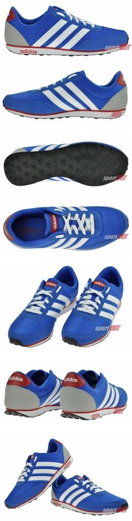 Buty Adidas Racer Nylon m?skie niebieskie 45 13