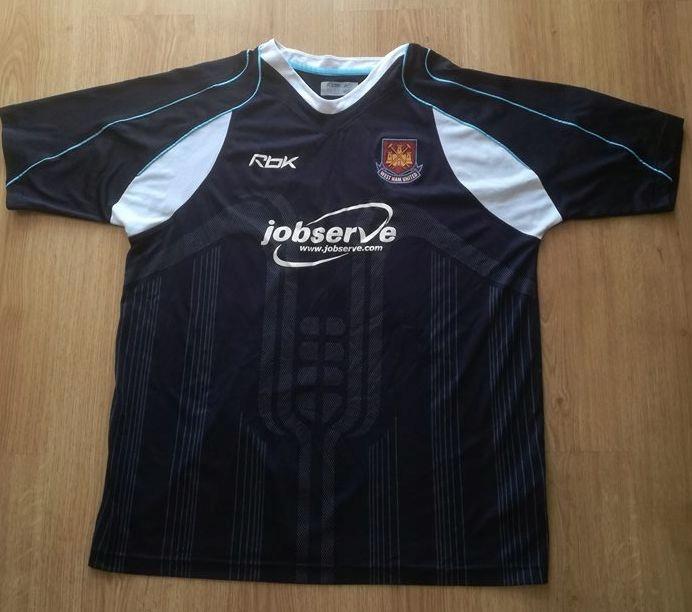Koszulka West Ham United 2006-07 REEBOK Fabiański