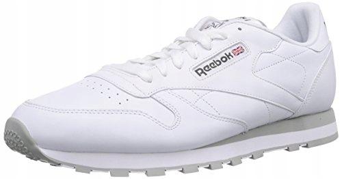 Moda Buty sportowe męskie białe Reebok Classic wiązane