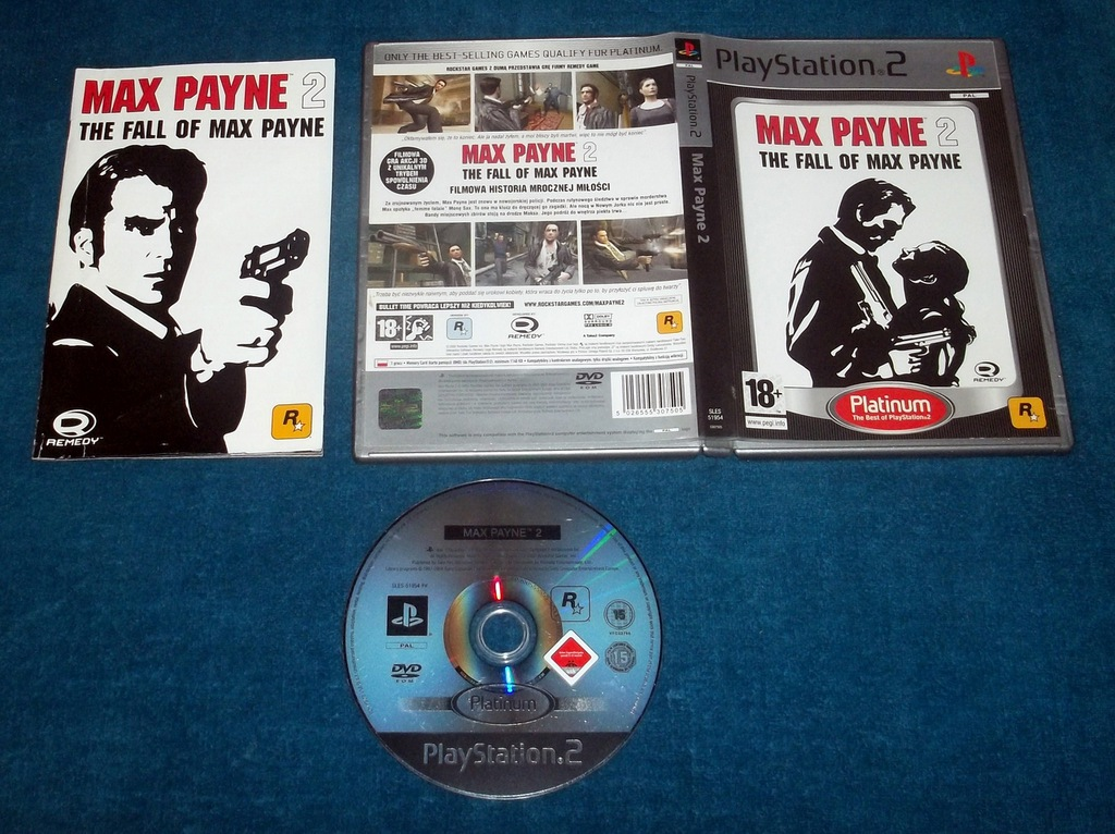 Max Payne 2 Fall Of Max Payne Po Polsku Tanio 6750756051 Oficjalne Archiwum Allegro