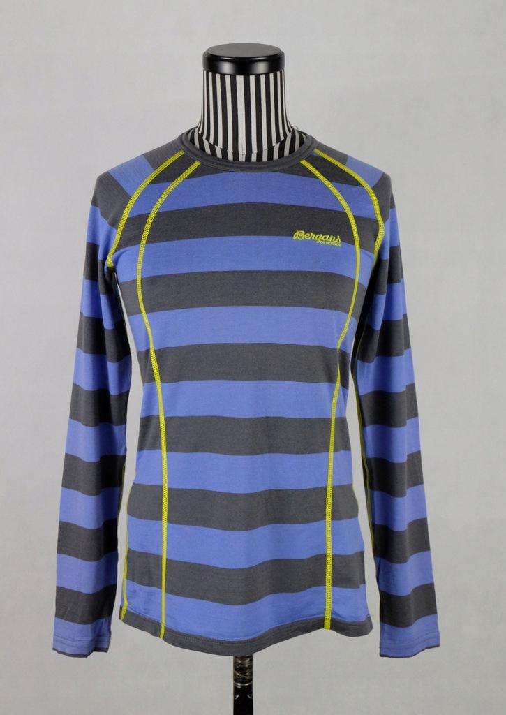 BERGANS FJELLRAPP bluzka 100% merino wool XS